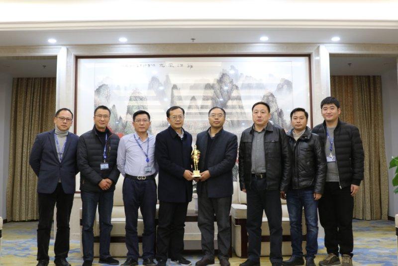 集团与中船八院共同庆祝七二三所项目获鲁班奖