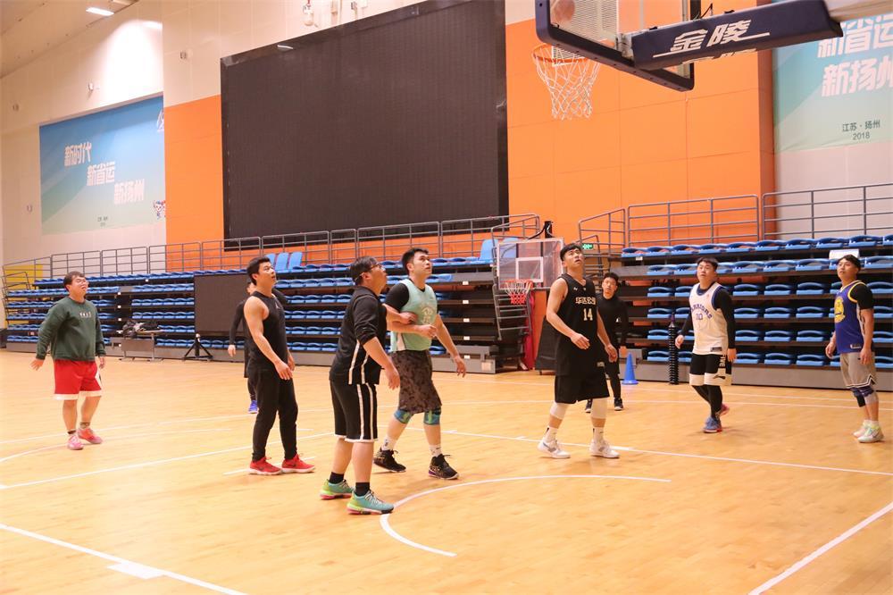 集团工会为篮球爱好者解决活动场所